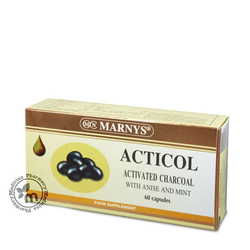 Marnys Acticol Capsules Better Digestion