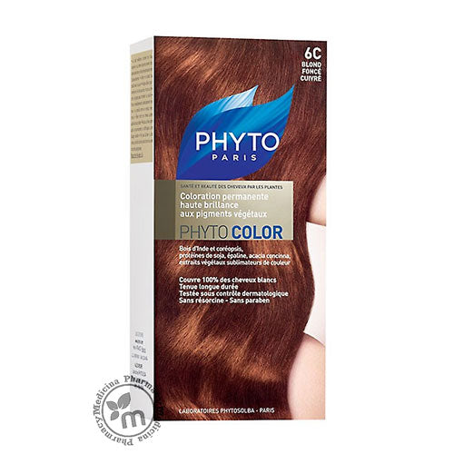 Phytocolor 6C Dark Coppery Blond - Medicina Online Pharmacy | UAE