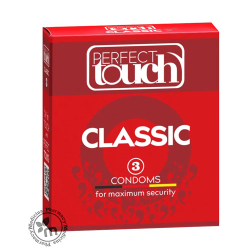 Perfect Touch Condoms Classic 3 Pcs