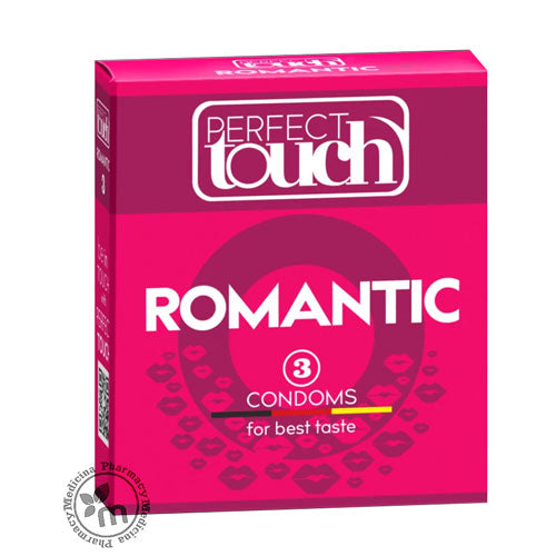 Perfect Touch Condoms Romantic 3 Pcs