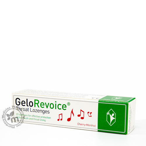 Gelorevoice Throat Lozenges for Voice Loss and Sore Throat