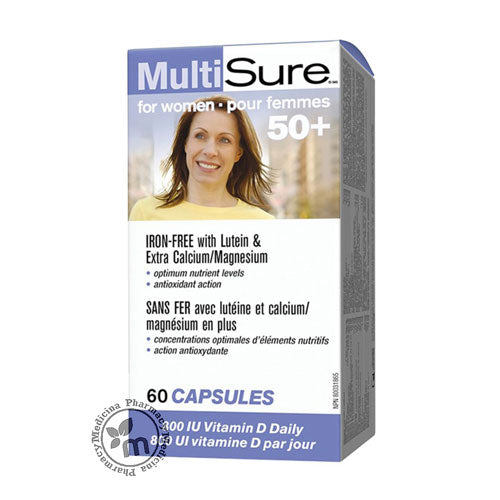Webber Multisure Women 50+ Multivitamins For Women