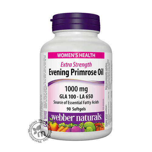 Webber Evening Primrose Oil 1000 mg Capsules
