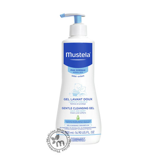 Mustela Gentle Cleansing Gel 500 ml - Medicina Online Pharmacy | UAE