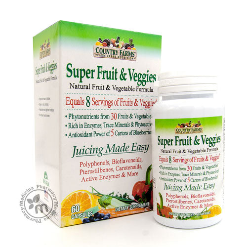 Country Farms Super Fruit & Veggies 30 Superfoods (1375374377009)