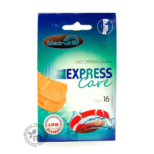 Medrull Express Care 16 (25Mmx72Mm) Plasters