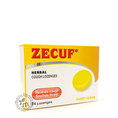 Zecuf Herbal Lozenges Honey Lemon Sore Throat&Cough