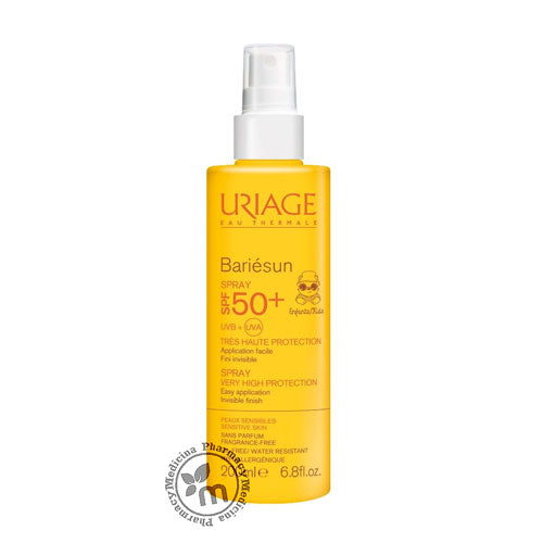 Buy Uriage Bariesun Kids Spray Spf 50+ Sunscreen (1380517150769)