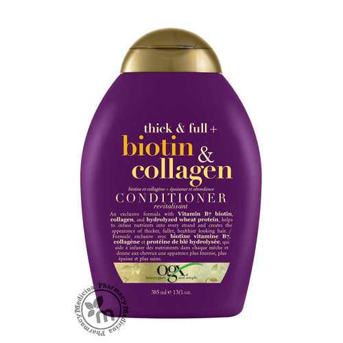 Buy Ogx Biotin & Collagen Conditioner (1394190614577)