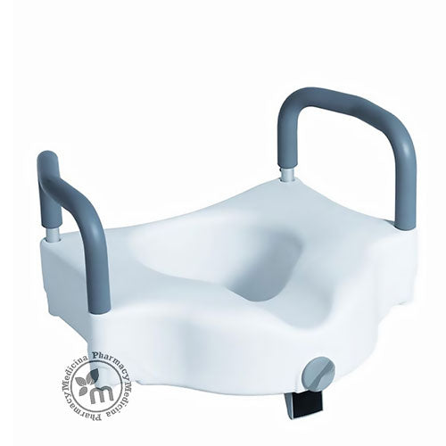 Media6 Raised Toilet With Handle