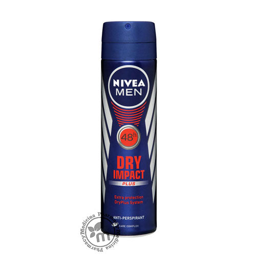 Nivea Deodorant Spray For Men Dry Impact