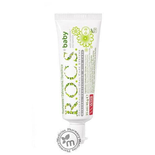 R.O.C.S Toothpaste Baby Mild Care With Camomile 0-3  years
