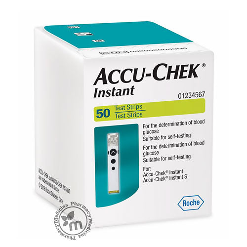 Accu Check Instant Strips 50s