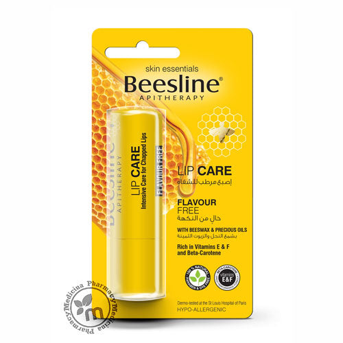 Beesline Lip Balm Care Flavour Free