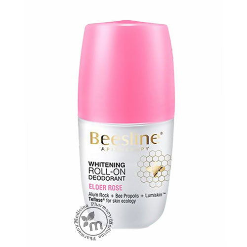 Beesline Whitening Deodorant Roll On 48 hr Elder Rose - Medicina Online Pharmacy | UAE