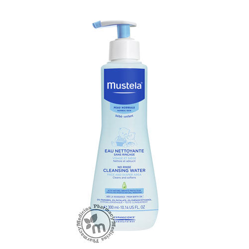 Mustela Cleansing No Rinse Water 300 ml Physio Bebe