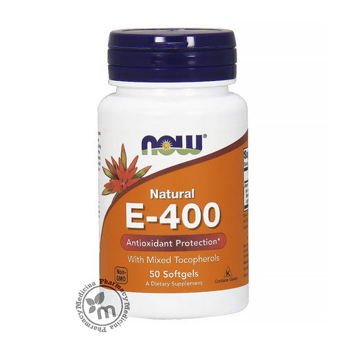 Now Vitamin E 400 SoftGels