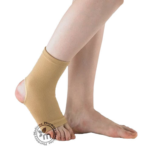 Compression Ankle Support Open Heel SAN0140 Makida