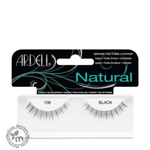 Ardell Eyelash Natural 108 Black - Medicina Online Pharmacy | UAE