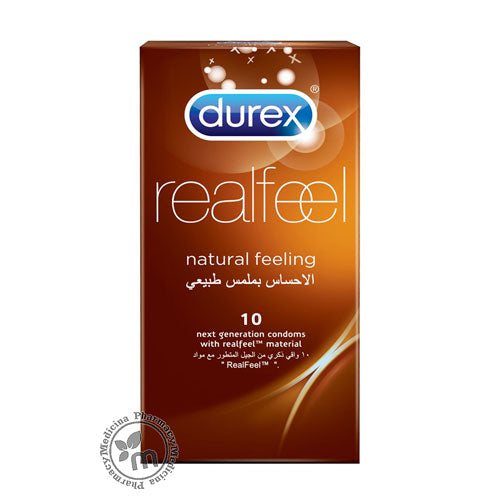 Durex Condom Real Feel 10s