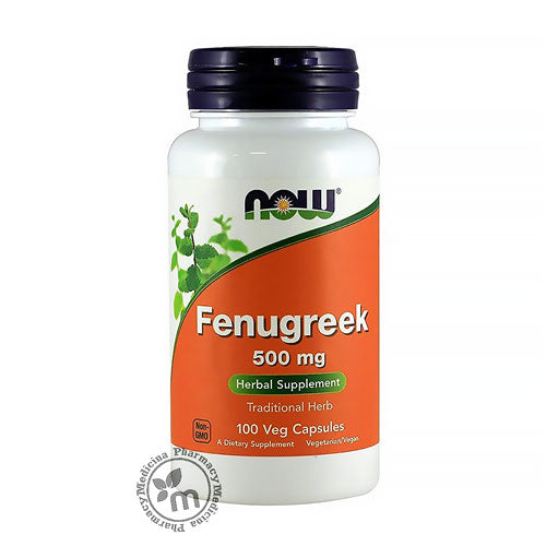 Now Fenugreek Capsules - Medicina Online Pharmacy | UAE