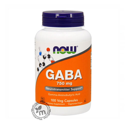 Now GABA 750 mg Capsules
