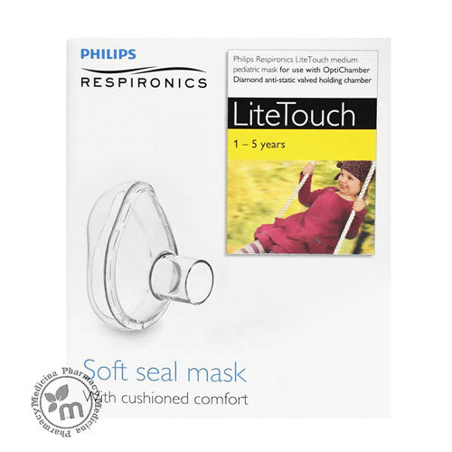 Philips Respironics LiteTouch Medium Mask 1-5 years - Medicina Online Pharmacy | UAE