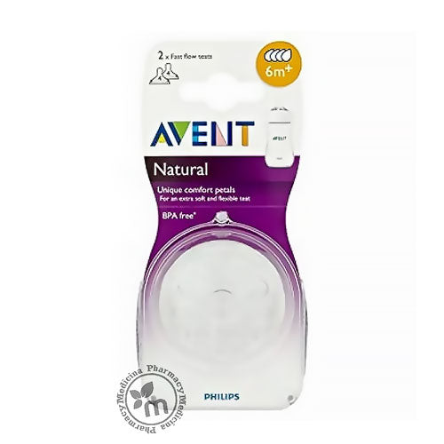 Avent Natural Teats 6m+ PA423