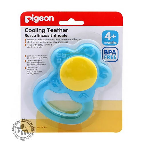 Pigeon Cooling Teether Flower
