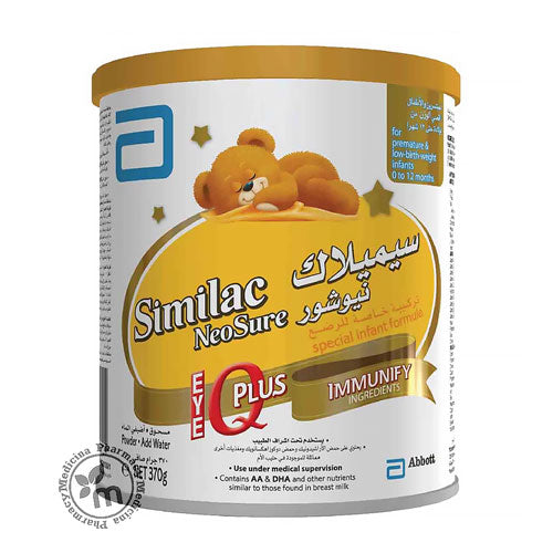 Shop Similac Neosure IQ Plus 370 gm in Dubai UAE