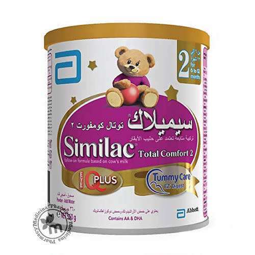 Shop Similac Total Comfort Stage 2 360 gm in Dubai UAE