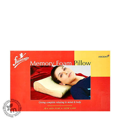 Buy Flamingo Premium Memory Foam Pillow Universal OC2411 in Dubai UAE