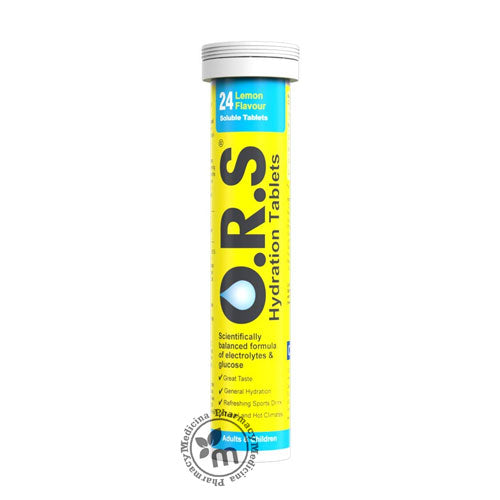 ORS Soluble Tablets Lemon