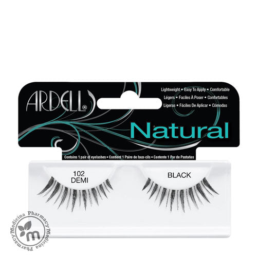 Ardell Eyelash Natural 102 Demi Black