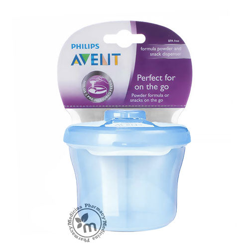 Buy Avent Milk Powder Dispenser Blue AV130 in Dubai UAE