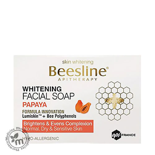 Buy Beesline Whitening Face Soap Papaya 85gm in Dubai UAE