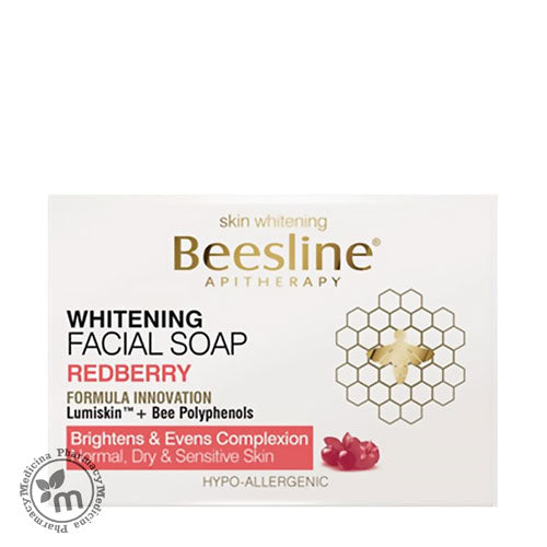 Beesline Whitening Face Soap Redberry - Medicina Online Pharmacy | UAE