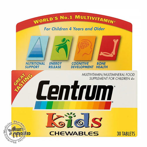 Centrum Junior 30s Chewable For Kids 4 years