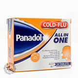 Panadol Cold & Flu All In One, 24 Tablets - Medicina Online Pharmacy | UAE