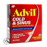 Advil Cold & Sinus 20s