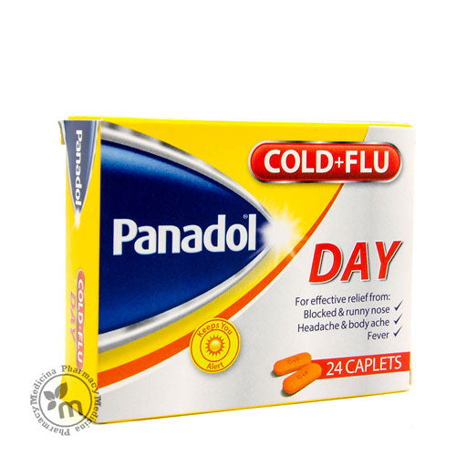 Panadol Cold & Flu Tablet Day 24s Yellow pack