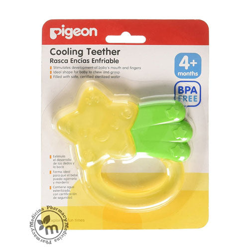 Pigeon Cooling Teether Star