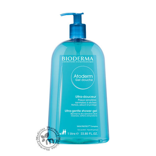 Bioderma Atoderm Shower Gel 1 Litre - Medicina Online Pharmacy | UAE