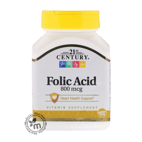 21st Century Folic Acid - Medicina Online Pharmacy | UAE