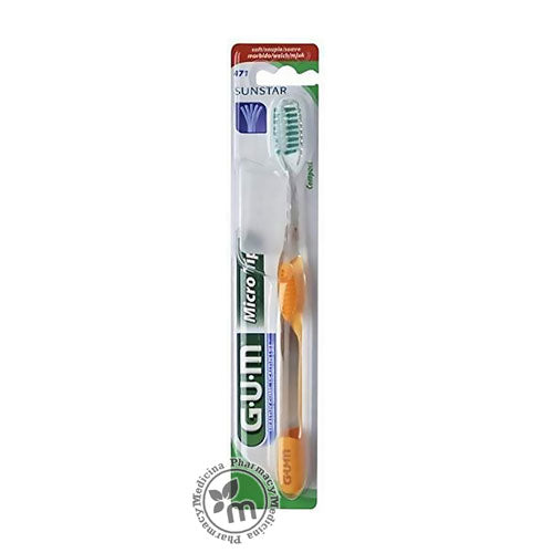 Butler Gum Toothbrush Microtip Compact Soft 471