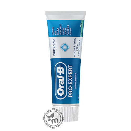 Oral B Toothpaste Pro Expert Whitening 75ml