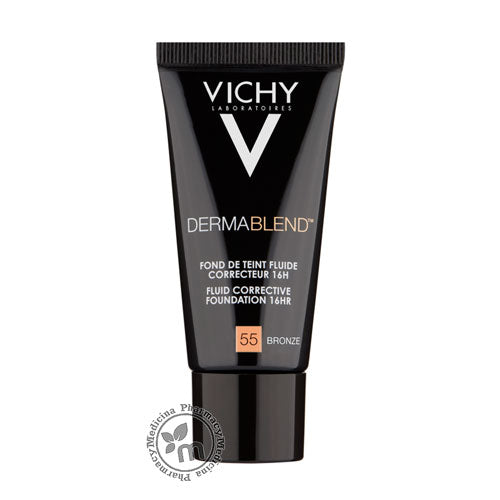 Vichy Dermablend 3D Correction Oil-Free Foundation Bronze 55