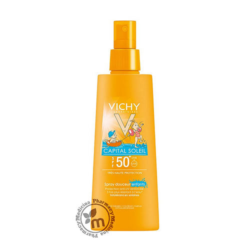 Vichy Sunscreen Ideal Soleil Spray For Kids SPF50+