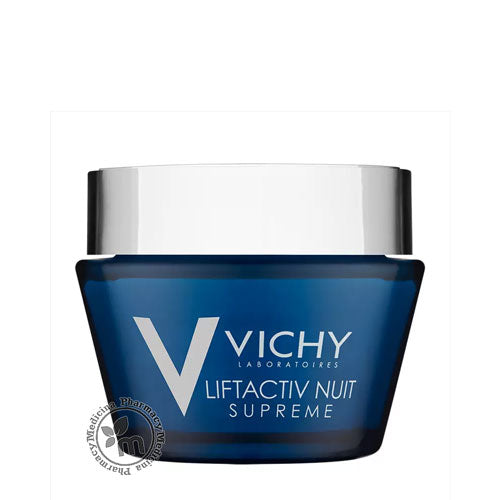 Vichy LiftActiv Supreme Night Anti-Wrinkle & Firming Moisturizer 50ml