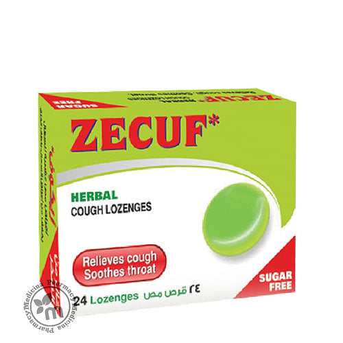 Zecuf Herbal Cough Lozenges Sugar Free (11195444871)